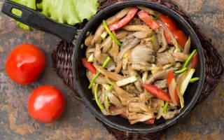 Как готовить вешенки грибы?
