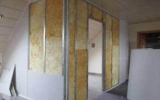 Как сделать стену из гипсокартона?