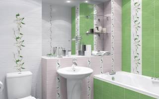 Какую плитку выбрать в маленькую ванную комнату?
