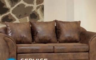 Кот поцарапал кожаный диван – что делать?