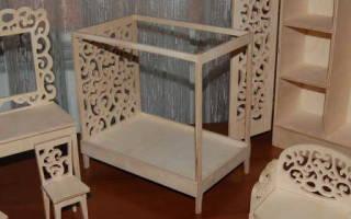 Кукольная мебель из фанеры своими руками – чертежи