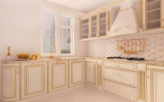 Как крепить стеновую панель для кухни?