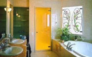 Какую дверь поставить в ванную комнату?