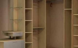 Как собрать угловой шкаф своими руками?