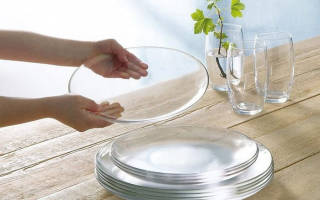 Как отмыть стеклянную посуду