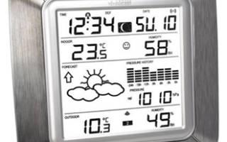 Метеостанции домашние с беспроводным выносным датчиком – рейтинг