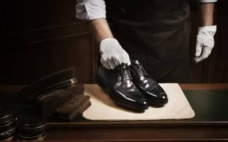 Как отполировать туфли до блеска?