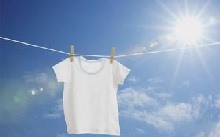 Как отбелить белые майки в домашних условиях?
