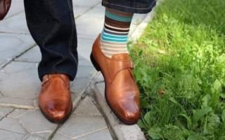 Как подобрать носки к брюкам и туфлям?