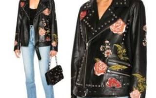 Как украсить кожаную куртку?