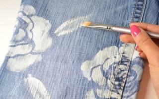 Как закрепить краску на ткани в домашних условиях?