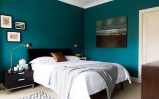 В какой цвет покрасить стены в спальне?