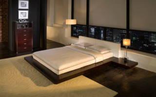 Кровать в японском стиле своими руками – чертежи