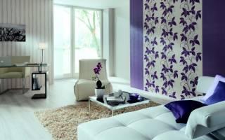 Как подобрать обои в комнату двух цветов?