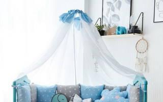 Как собрать балдахин на детскую кроватку?