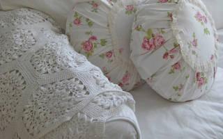 Как сшить круглую подушку?
