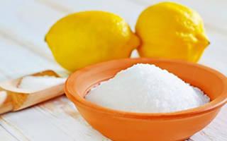 Лимонная кислота – свойства, польза, домашнее применение