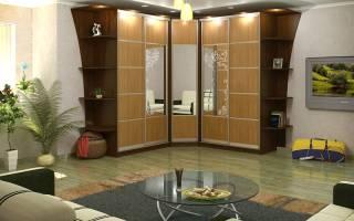 Дизайн углового шкафа, все нюансы относительно выбора