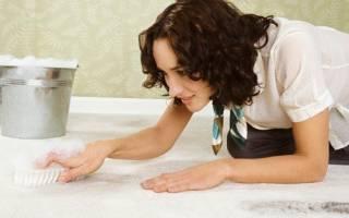Как убрать запах с ковра в домашних условиях?