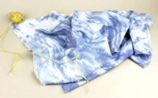 Как покрасить одежду?