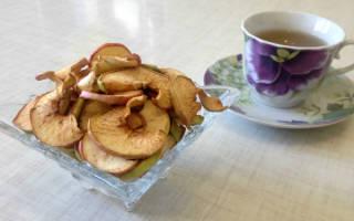 Как сушить яблоки на зиму?