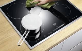 Как очистить керамическую плиту от нагара?
