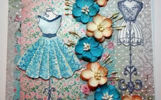 Как сделать платье из бумаги?