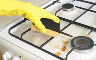 Как почистить конфорки на газовой плите?