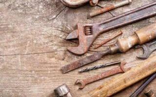 Как почистить инструменты от ржавчины?