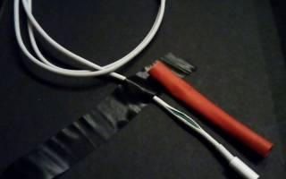 Как починить провод от зарядки Айфона?