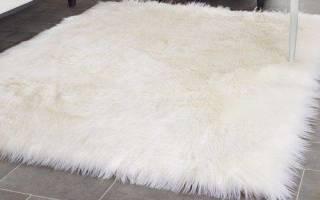 Как почистить овечью шкуру в домашних условиях?