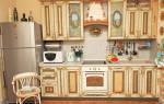 Декупаж кухонного гарнитура своими руками – фото