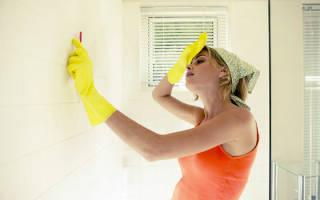 Грибок в ванной комнате – как удалить?