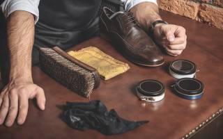 Как почистить кожаную обувь в домашних условиях?