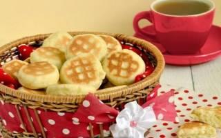 Печенье на сковороде на скорую руку